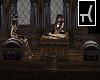 Pirate Skeleton Table