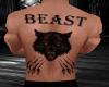 The Beast tattoo