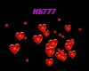 HB777 Floating Hearts