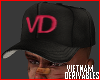 VD' Fitted hat