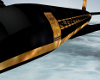 Black and gold jet