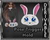 Bunny Hand Muffs M/F DRV