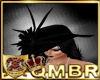 QMBR Hat Victorian Raven