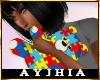 "a"" Autism Teddy Bear F"