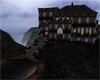 Foggy Clifftop Castle