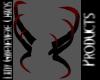HornsSet BloodDripBlack
