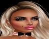 Pink Black Playboy Tie