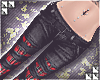 † denim&plaid | black
