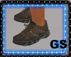 """GS"" DESING BROWN KICKS"