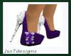 JT Classy Heels Purple
