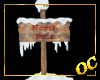 OC) 3D North Pole sign