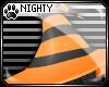 N: Witch Hat Orange