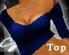 [sl]CuteCasualtop Blu