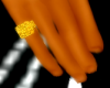 UN -Gold Pinky Ring