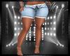 Open Zip Shorts