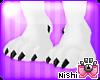 [Nish] Black Paws Feet M