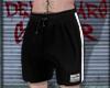 b&w, shorts.