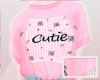 AT Cutie Pink Tuck