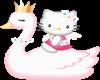 Hello Kitty Swan