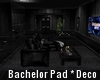 Bachelor Pad -Decorated-