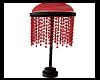 Red Black Floor Lamp