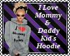Love Mom & Dad Kid Hoody