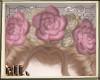 ML Vintage Rose Crown
