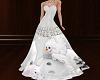 Silver Snowman Ballgown