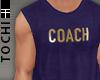 #T Vesto #Coach Navy