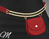 m: Belt Bag Red 01