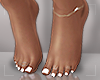 ṩ| White Pedicure v2
