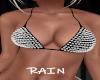 B/W Metal Bikini Top