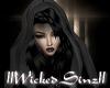{Sin} Black Hoodie Hair