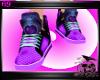 purple rave sneakers