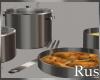 Rus Silver Pot Set