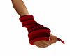 Red-Black Arm Warmers