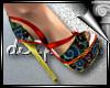 d3✠ Geisha Heels