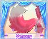 !* Pink Fox Tail 3