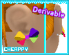 Derivable Bow Earrings