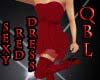 (QBL) Sexy Red Dress