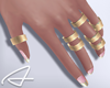 ~A: Set Gold Rings