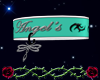 @};- Angel Collar (Teal)