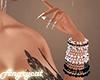 Pink & Black Bracelet L