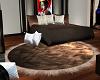 *MM*fur brown rug