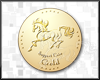 Gold support coin