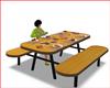 Mesa  Almuerzo Familiar