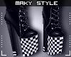 M:Shoes blk&white