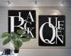 Black Queen Duo Canvas
