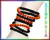 Black Orange Bracelet