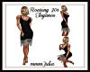 Roaring 20s Elegance Blk